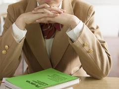 学習塾で補習の画像